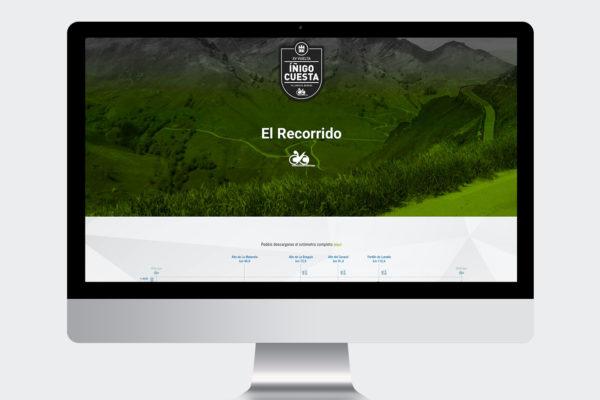 Web Marcha Cicloturista Íñigo Cuesta