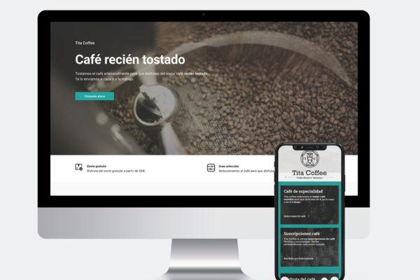Web Tita Coffee