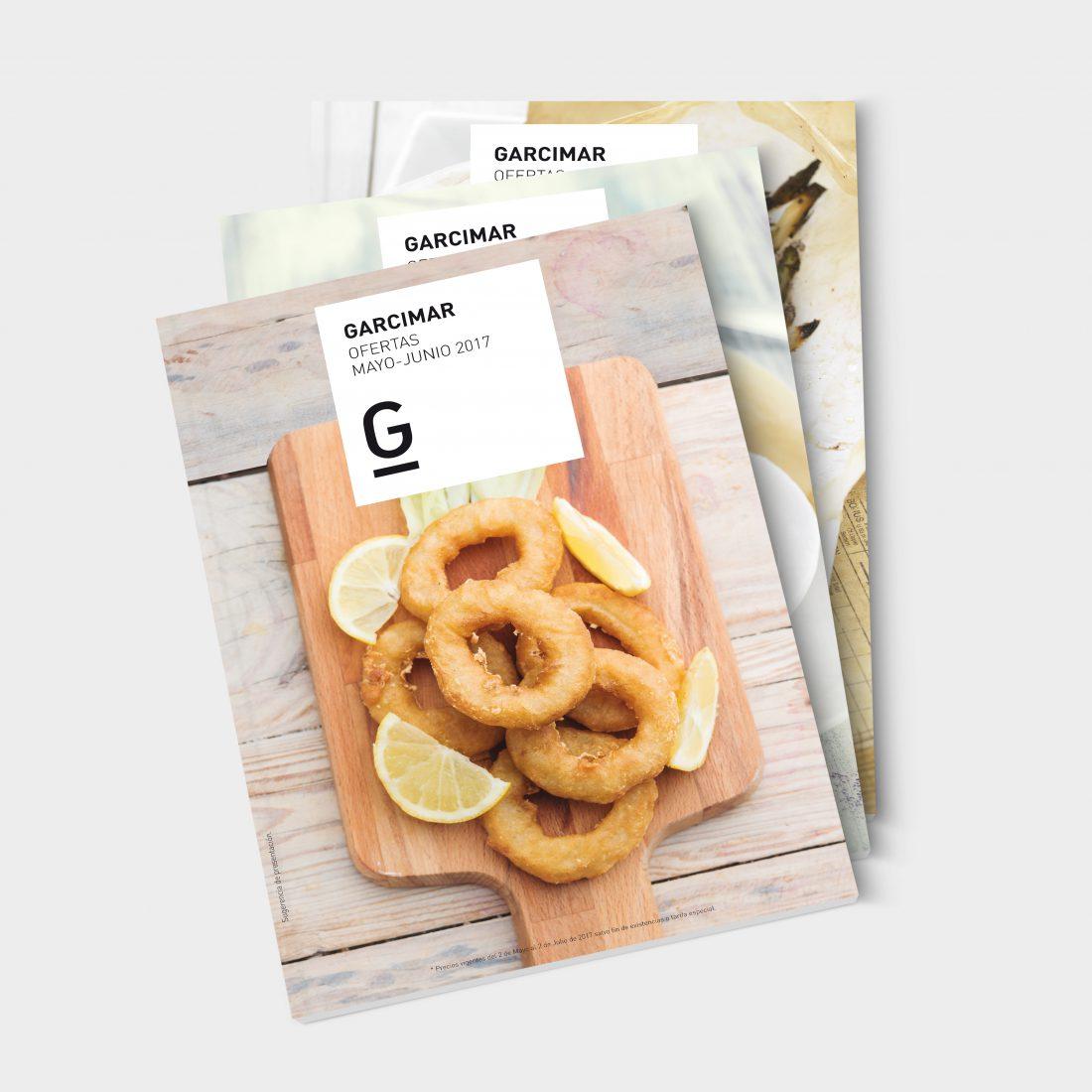 Catálogos comerciales para Garcimar